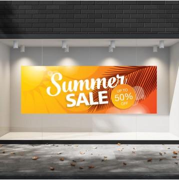 Summer Sales  13 Εκπτωτικά  Αυτοκόλλητα Βιτρίνας