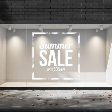 Summer Sales  21 Εκπτωτικά  Αυτοκόλλητα Βιτρίνας