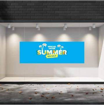 Summer Sales  19 Εκπτωτικά  Αυτοκόλλητα Βιτρίνας