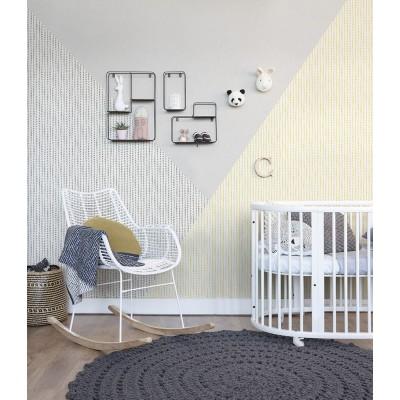 Ταπετσαρία τοίχου Rasch Bambino XVIII  249170 Παιδικό μοτίβο μπεζ- καφέ 10,05x0,53