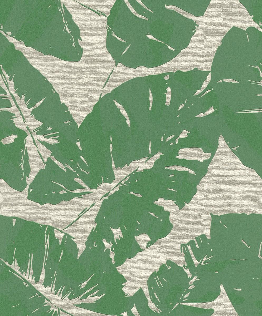 Ταπετσαρία τοίχου Rasch Hotspot  805222 Τροπικά φύλλα 10,05x0,53