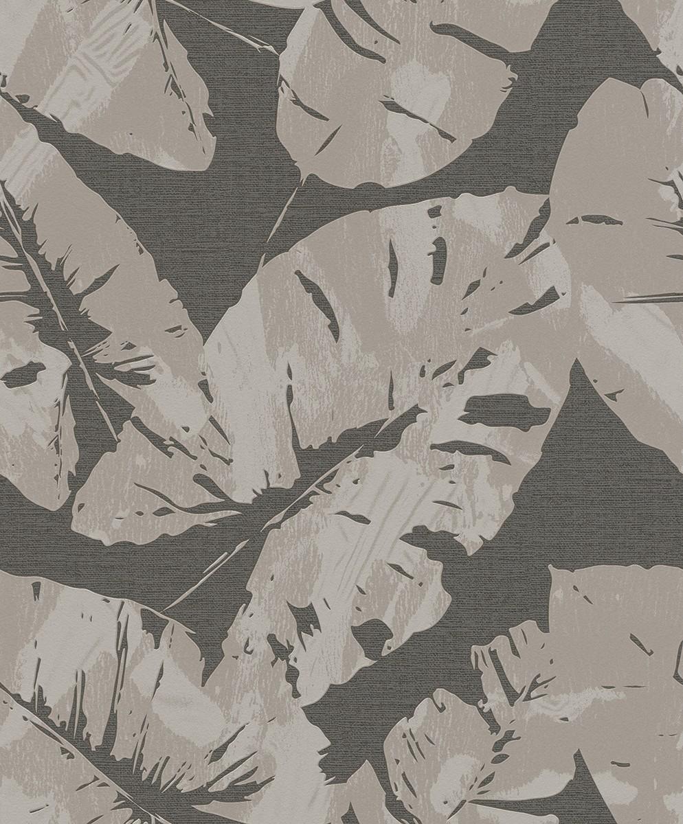 Ταπετσαρία τοίχου Rasch Hotspot  805239 Τροπικά φύλλα 10,05x0,53