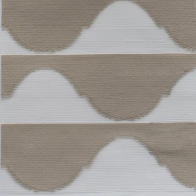 Διπλό ρόλερ 3D Zebra Harmony Caramel Anartisi