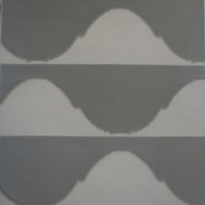 Διπλό ρόλερ 3D Zebra Harmony Γκρι  Anartisi