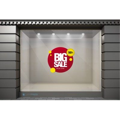 WSL100 Αυτοκόλλητα Βιτρίνας / Τοίχου - Big Sale