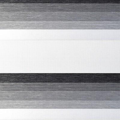 Διπλό ρόλερ Zebra ZO 58 Ασημί-Γκρί ρίγα