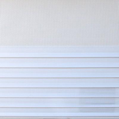 Διπλό ρόλερ Zebra ZP 25 Κυματιστό λευκό