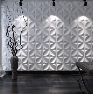 Διακόσμηση τοίχου πάνελ 3D FLOWER
