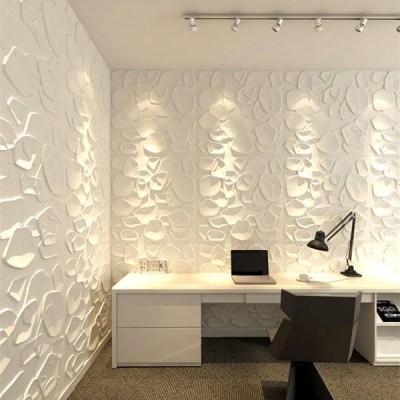 Διακόσμηση τοίχου πάνελ 3D STONES