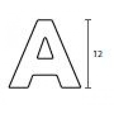 Γράμματα διευθύνσεων Convex ανοξείδωτο