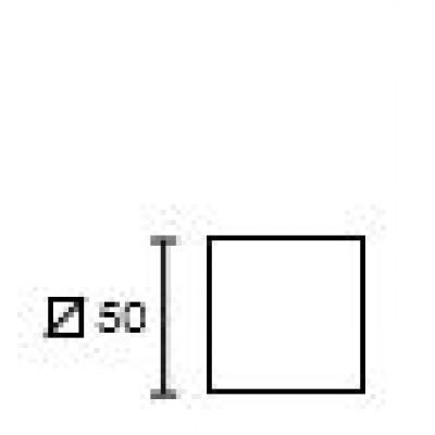 Ροζέτα Πόρτας Conset C875 σε νίκελ ματ