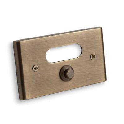 Κουδούνι πόρτας Convex 137B αντικέ ματ