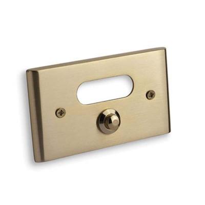 Κουδούνι πόρτας Convex 137B χρυσό/ χρυσό ματ