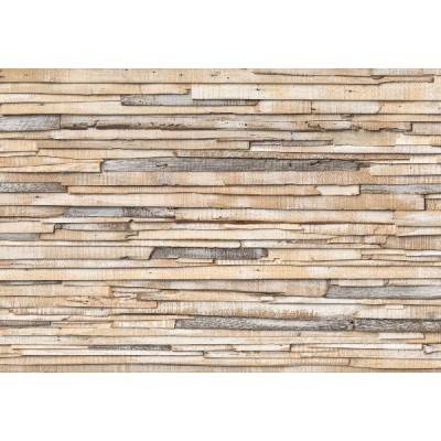 Φωτοταπετσαρία τοίχου Komar 8-920 Non woven Vlies Ασβεστωμένο ξύλο  368x254cm