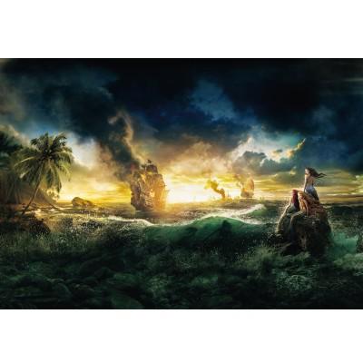 Φωτοταπετσαρία τοίχου παιδική Πειρατές της Καραϊβικής 184x127cm