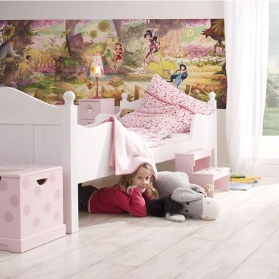 Φωτοταπετσαρία τοίχου παιδική Νεράιδες Tinkerbell DISNEY 202x73cm