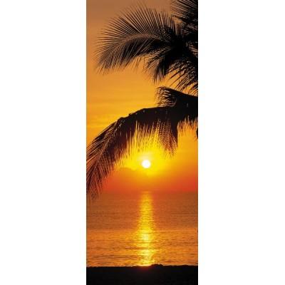 Φωτοταπετσαρία τοίχου Ηλιοβασίλεμα στην Παραλία (φύση) 92x220cm