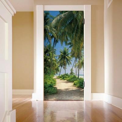Φωτοταπετσαρία τοίχου Δρόμος προς την Παραλία (φύση) 92x220cm