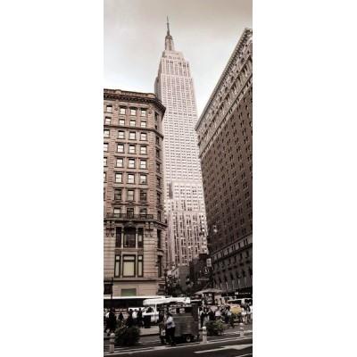 Φωτοταπετσαρία τοίχου με το Κτίριο Empire 92x220cm
