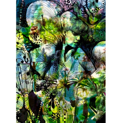 """Φωτοταπετσαρία τοίχου """"Ο κήπος της Αφροδίτης"""" (flowers) 184x254cm"""