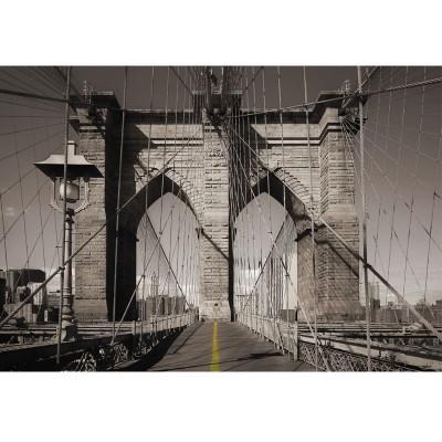 Φωτοταπετσαρία τοίχου Μονοπάτι στη γέφυρα (bridge) 368x254cm