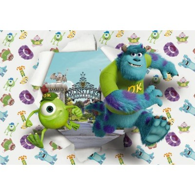 Φωτοταπετσαρία  τοίχου παιδική Monsters University DISNEY 368x254cm