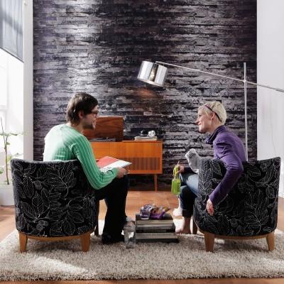 Φωτοταπετσαρία τοίχου Komar 8-700 Birkenrinde  Σκούρο ξύλο 368x254cm