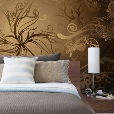 Φωτοταπετσαρία τοίχου Χρυσό 368x254cm