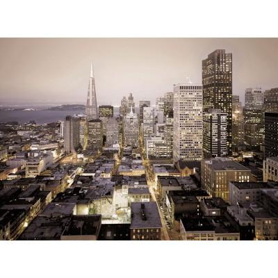 Φωτοταπετσαρία τοίχου Πόλη από ψηλά (buildings city) 368x254cm