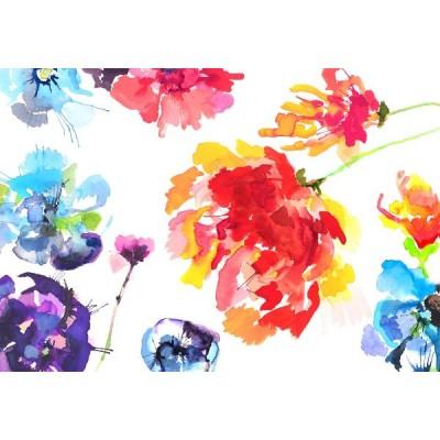 Φωτοταπετσαρία τοίχου Komar 8NW-917 Non woven Vlies Λουλούδια του Πάθους (flowers) 368x254cm