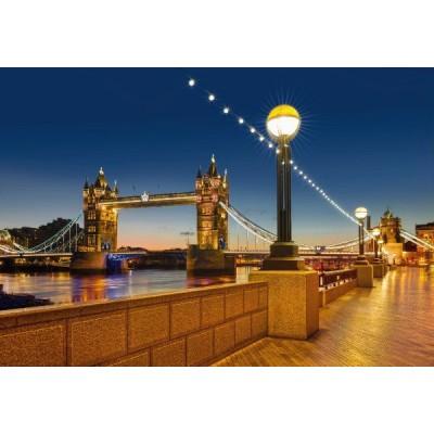 """Φωτοταπετσαρία τοίχου Komar 8-927  """"Tower Bridge """" 368x254cm"""