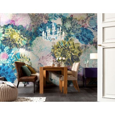 Φωτοταπετσαρία τοίχου Ζωηρά Λουλούδια (flowers) 368x254cm