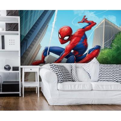 Φωτοταπετσαρία τοίχου παιδική Spiderman MARVEL 208x146