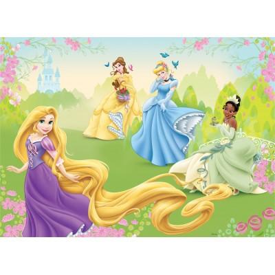Φωτοταπετσαρία τοίχου παιδική Disney Frozen Princess on the Meadow 208x146