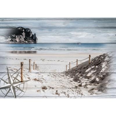 Φωτοταπετσαρία τοίχου Δρόμος προς τη θάλασσα 208x146