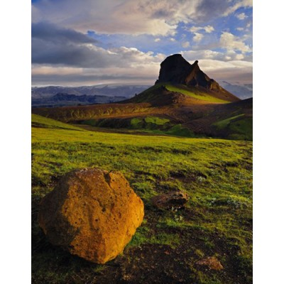 Φωτοταπετσαρία τοίχου 1-600 Ισλανδικά Βουνά 184x127cm