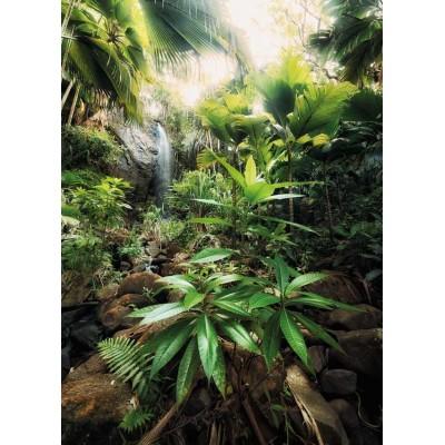 Φωτοταπετσαρία τοίχου Spirit  Πυκνό Δάσος με Καταράκτη 184x248cm