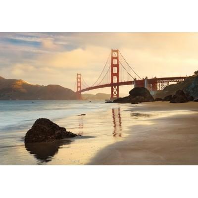 Φωτοταπετσαρία τοίχου Γέφυρα Golden Gate 368x248cm