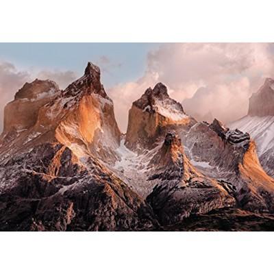 Φωτοταπετσαρία τοίχου Torres del Paine- Χιονισμένα Βουνά - 254x184cm