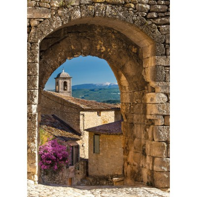 Φωτοταπετσαρία τοίχου Γαλλικό Χωριό 184x254cm