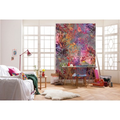 """Φωτοταπετσαρία τοίχου Φλοράλ Komar 4-211 """"Wild Garden"""" 184X254cm"""