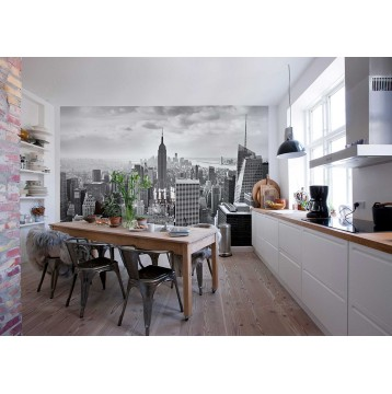 """Φωτοταπετσαρία τοίχου  Komar 8-323 """"NYC black and white"""" 368x254cm"""