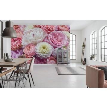 """Φωτοταπετσαρία τοίχου Φλοράλ Komar 8-335 """"Vibrant Spring"""" 368x254cm"""