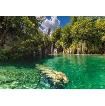 """Φωτοταπετσαρία τοίχου National Geographic Komar 4-537 """"Mirror Lake"""" 184x254cm"""