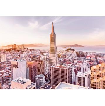 """Φωτοταπετσαρία τοίχου  National Geographic Komar 8-535 """"San Francisco Morning"""" 368x254cm"""