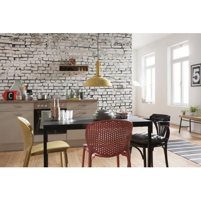 """Φωτοταπετσαρία τοίχου Komar 8-881 """"White brick"""" 368x254cm"""