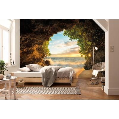 Φωτοταπετσαρία τοίχου Komar  8-984 Hide Out  Σπηλιά Δίπλα στην Θάλασσα 368x254cm