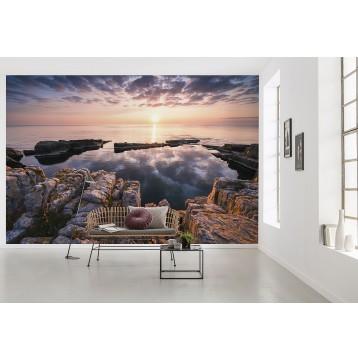 """Φωτοταπετσαρία τοίχου  Komar XXL4-1030 Non woven Vlies """"Spiegelküste"""" 368x248cm"""