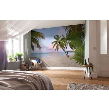 """Φωτοταπετσαρία τοίχου  National Geographic Komar XXL4-528 Non woven Vlies """"Paradise Morning""""  368x248cm"""