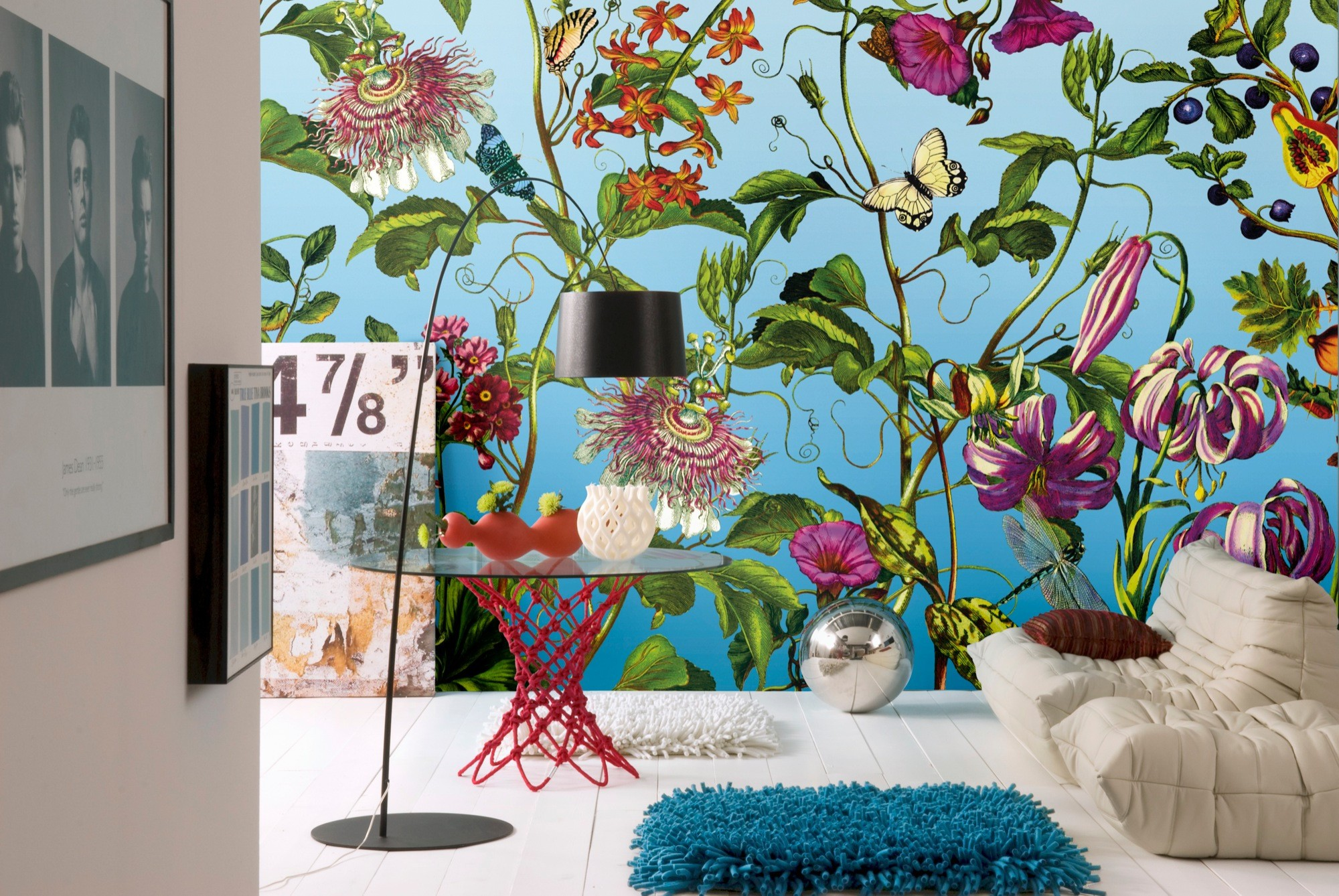 """Φωτοταπετσαρία τοίχου Φλοράλ Komar XXL4-029 Non woven Vlies  """"Jardin"""" 368x248cm"""
